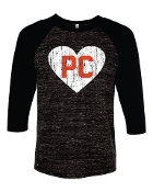PC Heart Baseball Shirt
