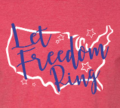 Let Freedom Ring Tank Top-Ladies
