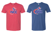NCC Red or Blue Short Sleeve Shirt